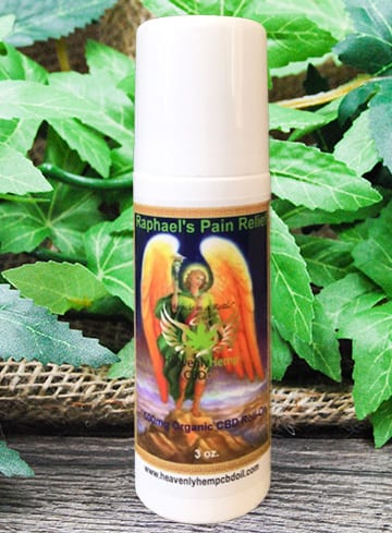 Pain relief cbd oil roll on raphael the angel of healing